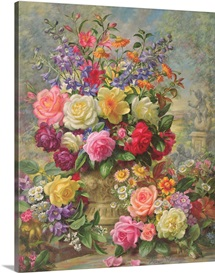 Sweet Fragrance of a Summer's Day (oil on canvas)