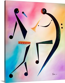 Tamberine Jam, 2006 (oil on canvas)