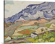 The Alpilles, 1890 (oil on canvas)