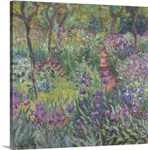 The Artist's Garden in Giverny, 1900