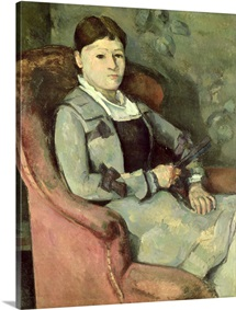 The Artists Wife in an Armchair, c.1867 (oil on canvas)