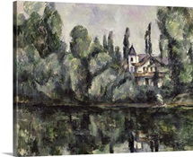 The Banks of the Marne, 1888 (oil on canvas)
