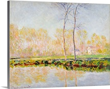 The Banks of the River Epte at Giverny, 1887 (oil on canvas)