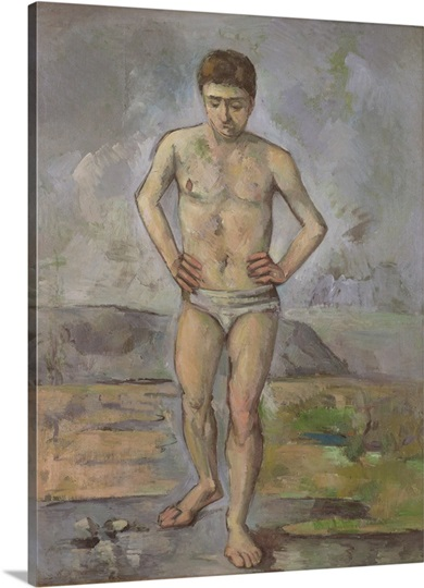 The bather c 1885 photo canvas print great big canvas for Design your own bathers