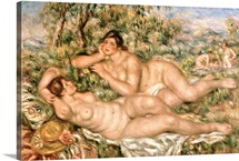 The Bathers, c.1918 19 (oil on canvas)