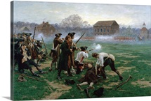 The Battle of Lexington, 19th April 1775, 1910