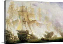 The Battle of Trafalgar, c.1841