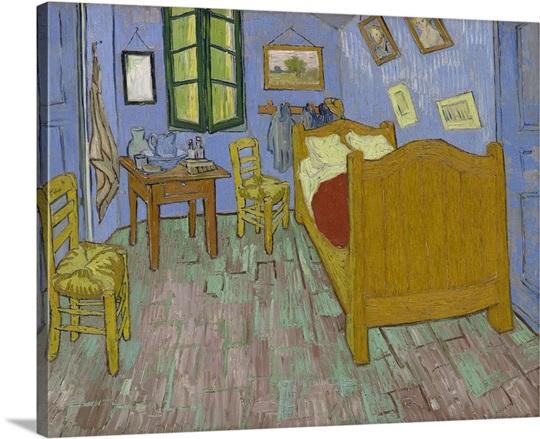 The Bedroom, 1889