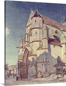 The Church at Moret, 1894 (oil on canvas)