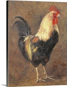 The Cockerel, 1999 (oil on canvas)