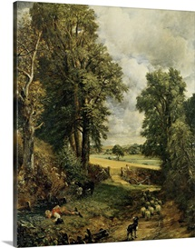 The Cornfield, 1826 (oil on canvas)