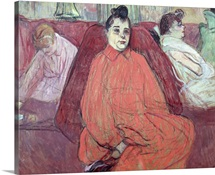 The Divan, 1893 (gouache & pastel on cardboard)
