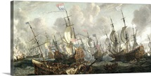 The Four Day's Battle, 1-4 June 1666