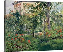 The Garden at Bellevue, 1880 (oil on canvas)