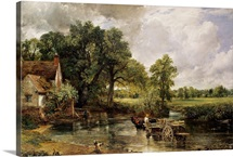 The Hay Wain, 1821 (oil on canvas)