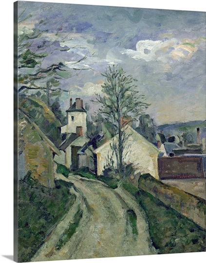The House of Doctor Gachet (1828 1909) at Auvers, 1872 73 (oil on canvas)