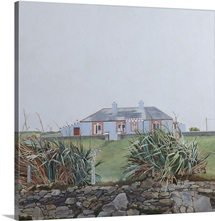 The Irish House 2, (acrylic on board)