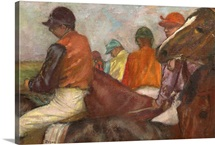 The Jockeys, c.1882 (oil on canvas)