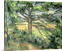 The Large Pine, 1895 97 (oil on canvas)