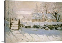 The Magpie, 1869 (oil on canvas)