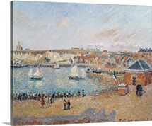 The Outer Harbour at Dieppe, 1902 (oil on canvas)