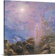 The Path (acrylic on canvas)