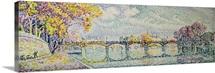 The Pont des Arts, 1928 (oil on canvas)
