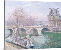 The Pont Royal and the Pavillon de Flore, 1903 (oil on canvas