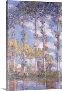 The Poplars, 1881 (oil on canvas)