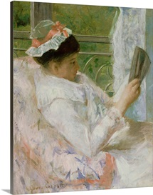 The Reader (Lydia Cassatt) c.1878