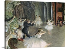 The Rehearsal of the Ballet on Stage, c.1878 79 (pastel on paper)