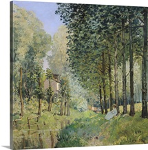 The Rest by the Stream. Edge of the Wood, 1872 (oil on canvas)