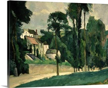 The Road at Pontoise, 1875 (oil on canvas)