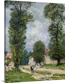 The Road to Marly-le-Roi, or The Road to Versailles, 1875