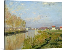 The Seine at Argenteuil, 1873 (oil on canvas)