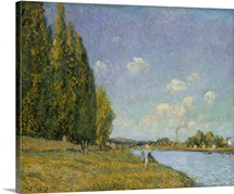 The Seine at Billancourt, 1879 (oil on canvas)