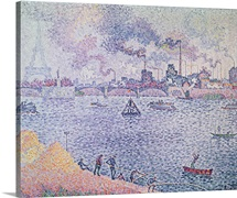 The Seine, Grenelle, 1899 (oil on canvas)