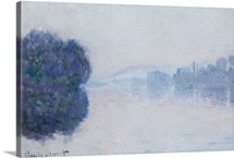 The Seine near Vernon, Morning Effect, c.1894 (oil on canvas)