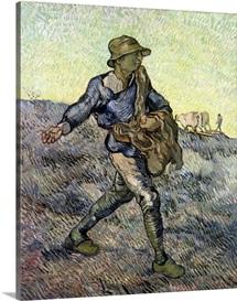 The Sower (after Millet) 1890