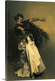 The Spanish Dancer, study for El Jaleo, 1882 (oil on canvas)