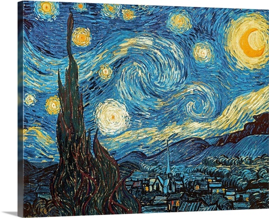 The Starry Night, June 1889