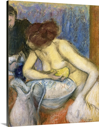 The Toilet, 1897 (pastel)