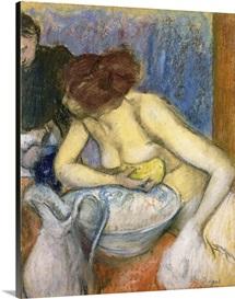 The Toilet, 1897 (pastel)