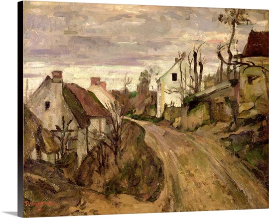 The Village Road, Auvers, c.1872 73 (oil on canvas)
