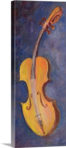 The Violin, 2000 (oil on canvas)