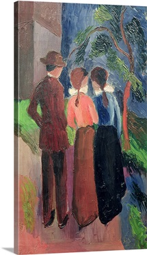 The Walk, 1914 (oil on canvas)