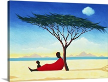 Turkana Afternoon, 1994 (oil on canvas)