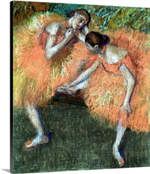 Two Dancers, c.1898 (pastel on paper)