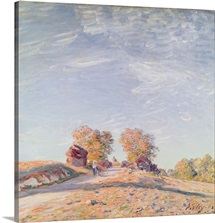 Uphill Road in Sunshine, 1891 (oil on canvas)
