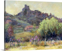 Vaison La Romaine, Vaucluse (oil on canvas)